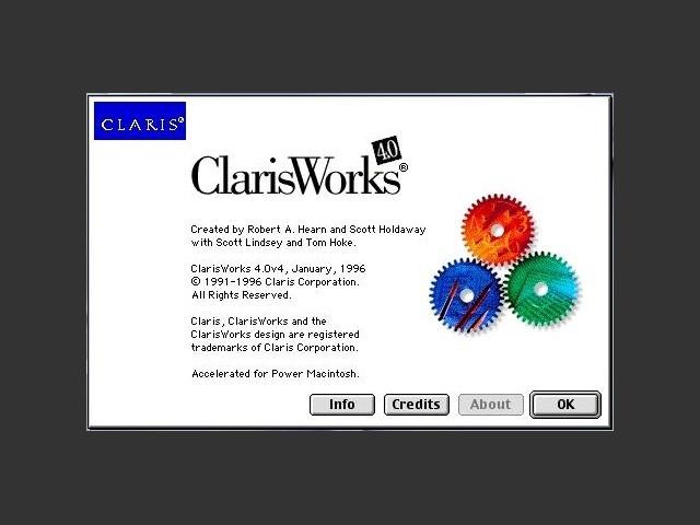 ClarisWorks 4.x (1996)