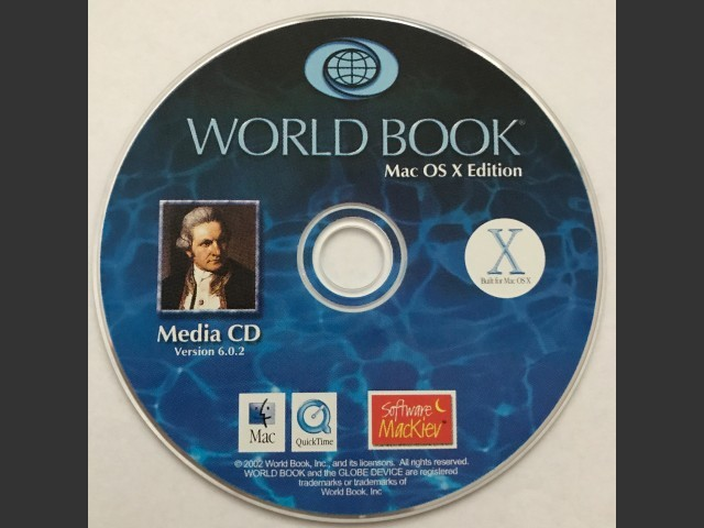 CD (version 6.0.2/2002 for OSX)