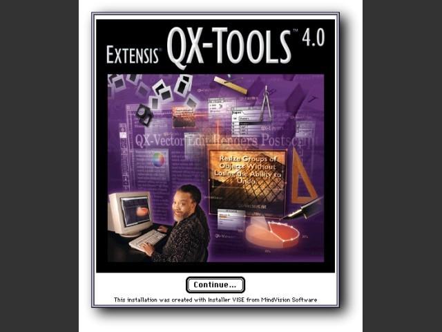 Extensis QX-Tools 4.0.2 (1999)