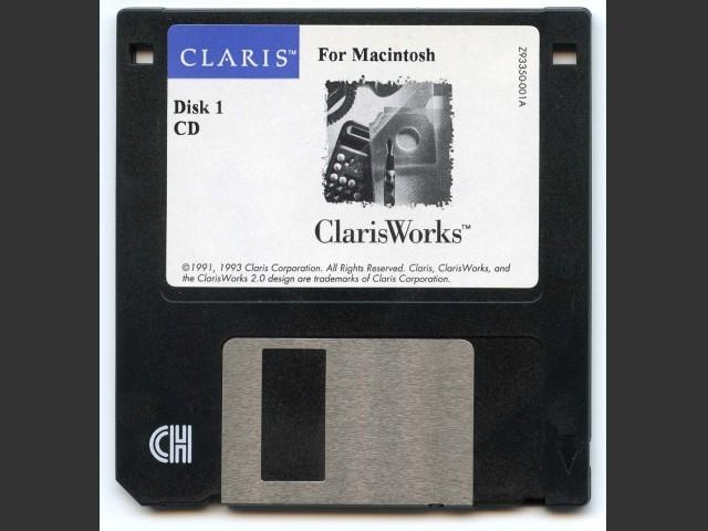 ClarisWorks 2.0CDv1 - 2.1CDv4 (1993)