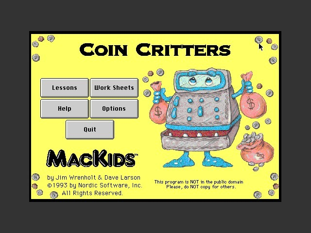 Coin Critters (1994)