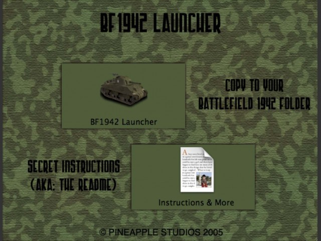 Battlefield 1942 Launcher (2005)