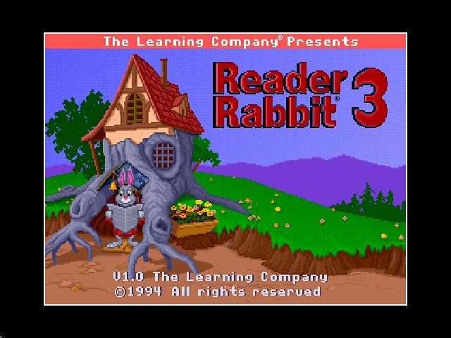 Reader Rabbit 3 (Floppy disk version) (1994)