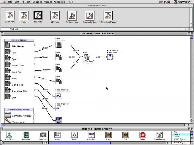 Novell AppWare 1.2 Mac/Win; MicroBrew 1.3.1 Mac (1993)