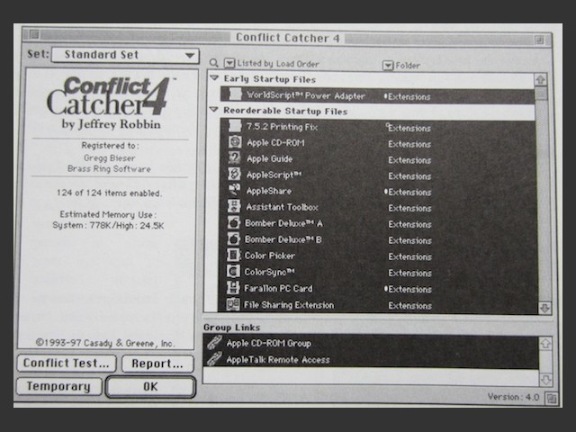 Conflict Catcher 4.x (1997)