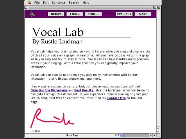 Vocal Lab (1998)