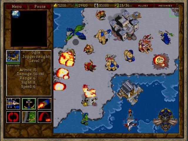 Warcraft II BNE Screenshot 1