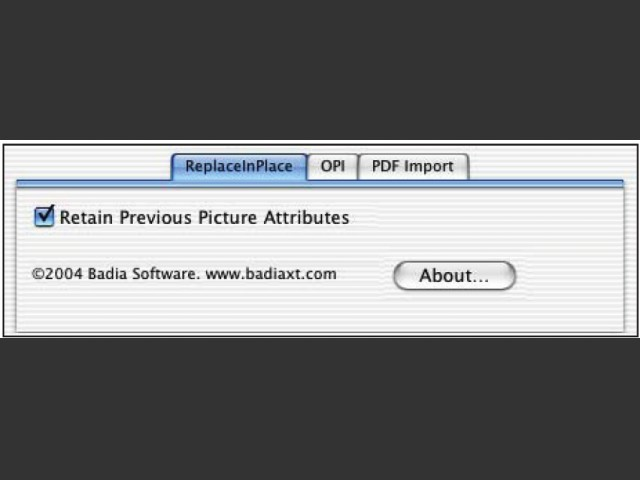 Badia ReplaceInPlace XT 1.0 (2004)