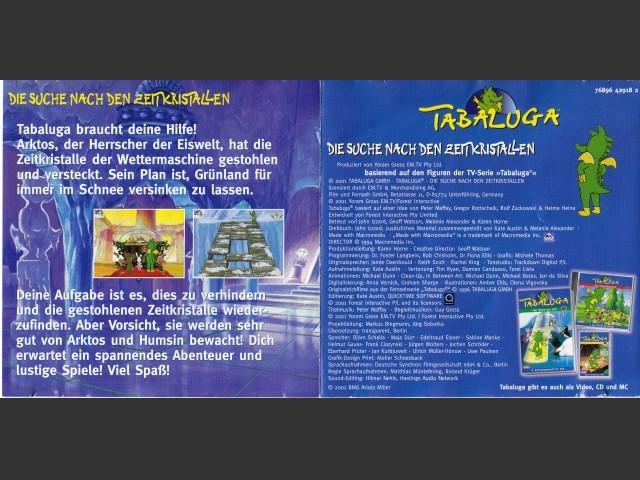 """Tabaluga """"Die Suche nach den Zeitkristallen"""" (1995)"""
