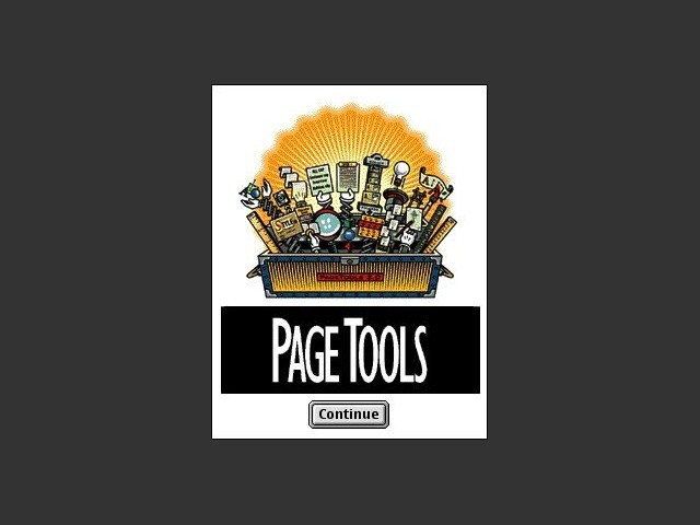 Extensis PageTools™ 2.0 (1997)