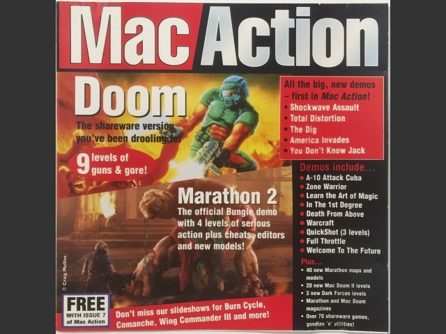 Mac Action 7 (Jan 1996) (1996)