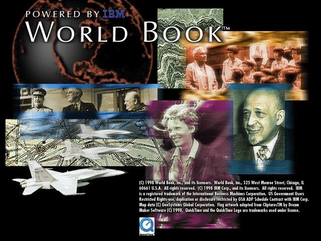 World Book Interactive Encyclopedia 1998 (1998)