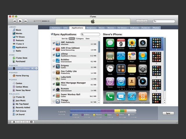 iTunes 9.1.1 & 9.2.1 (2010)