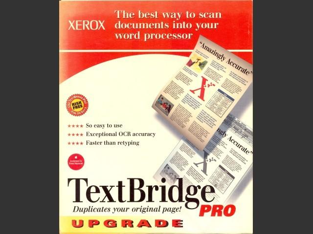 TextBridge Pro 3.0 (1996)