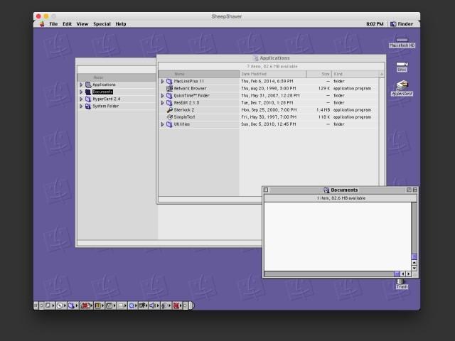 Mac OS 9 Finder