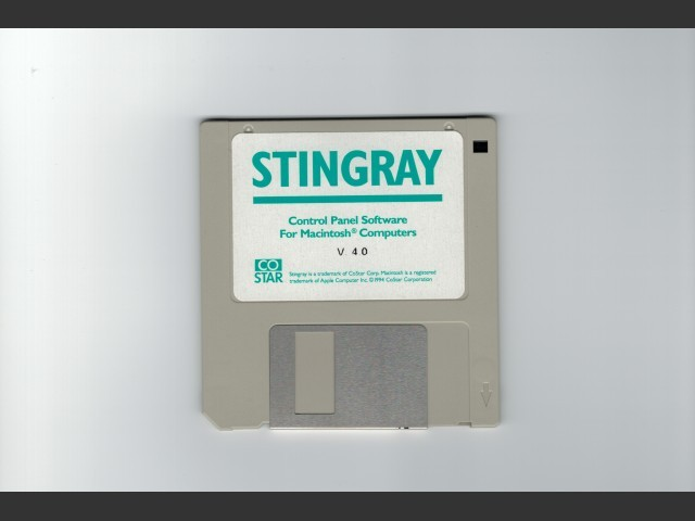 Stingray Control Panel (1994)
