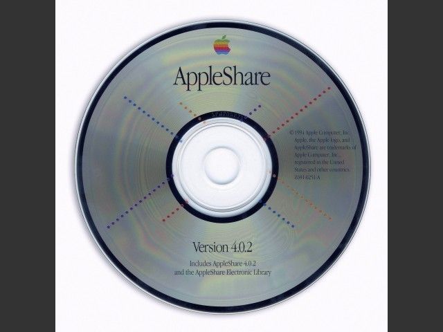 AppleShare v4.0.2 (CD) (1993)
