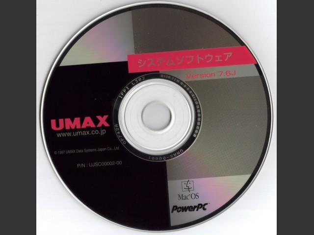 Mac OS 7.6 (Umax SuperMac series) (Japanese) (1997)