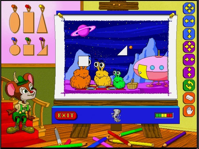 Colors and Shapes with Hickory (1995)