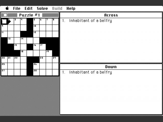 CrossWord (1987)
