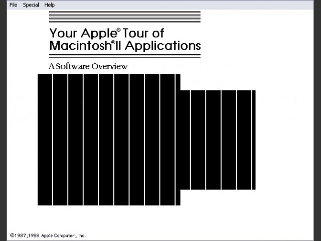 Apple Tour of Macintosh II Applications (1988)