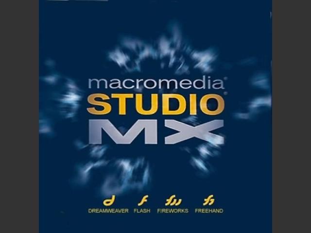 Macromedia Studio MX (2002)