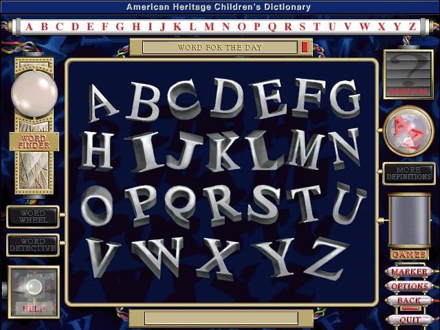 American Heritage Children's Dictionary - Macintosh Repository