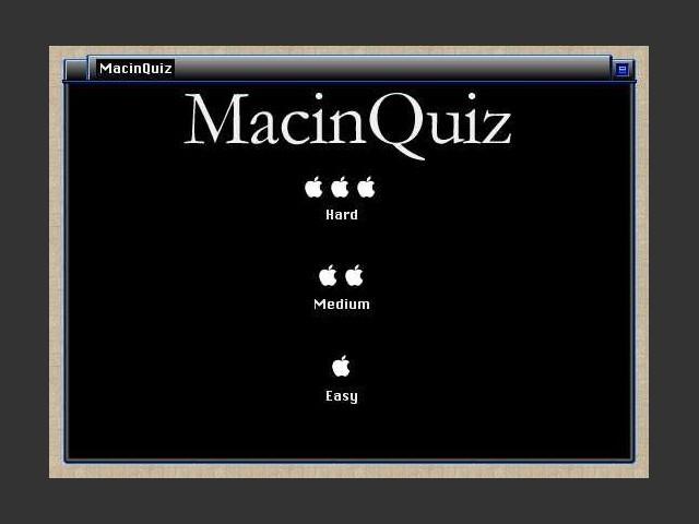 MacinQuiz (1998)