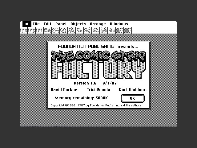 Fred Nerd's Comic Strip Factory (1986)