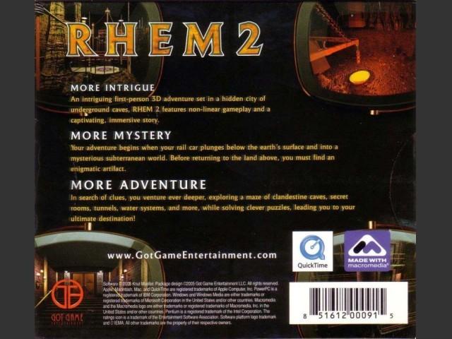 RHEM 2: The Cave (2005)