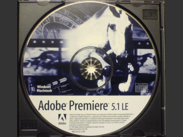 Adobe Premiere 5.1 LE in EN - FR - DE - Jap. (1999)