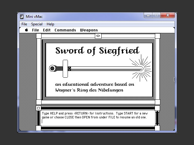 Sword of Siegfried (1987)