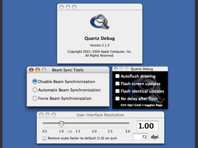 Quartz Debug (2007)