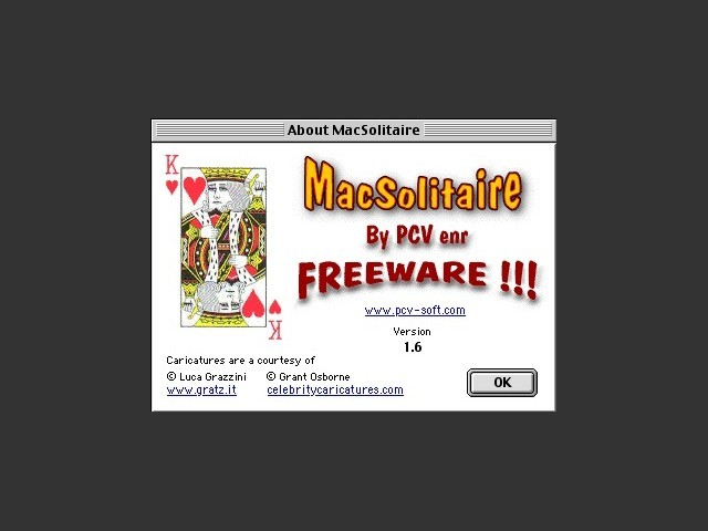 Mac Solitaire 1.6 (2004)