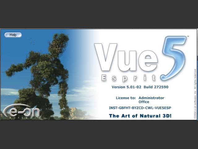 E-on Vue 5 Esprit (2004)