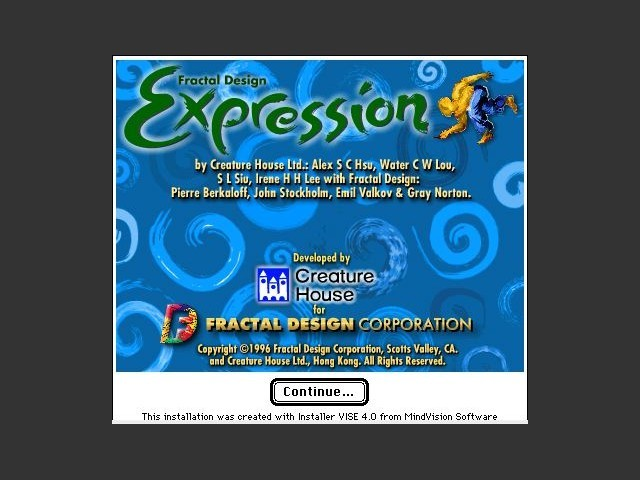 Expression 1.0.1 (1996)