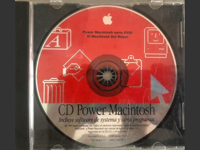 CD Power Macintosh para series 6500
