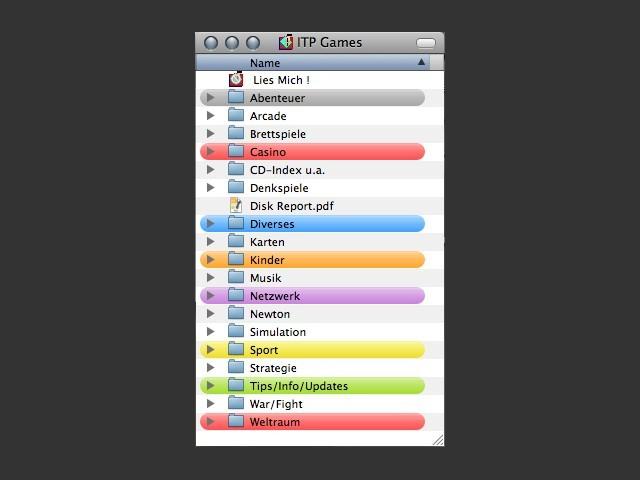 ITP Games Content Screenshot