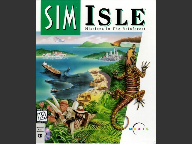SimIsle: Missions in the Rainforest (1995)