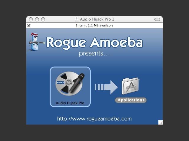 Rogue Amoeba, DMG Contents
