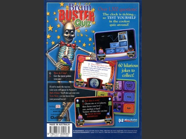 Brain Buster Quiz (2000)