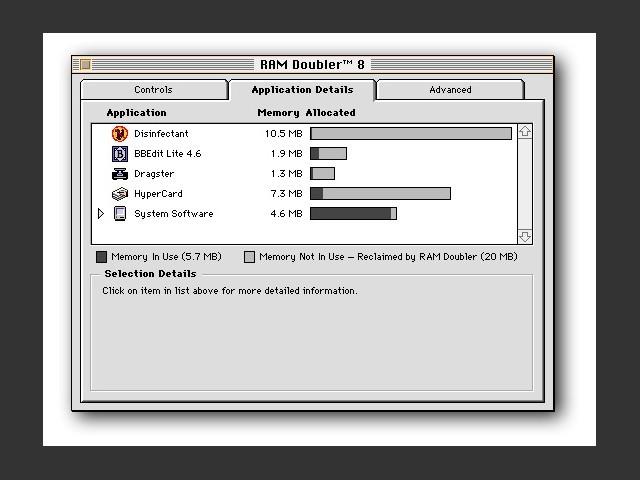 Connectix RAM Doubler 8 (1998)