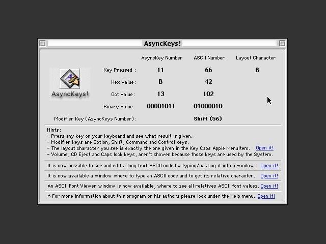 AsyncKeys! 1.6 (2001)