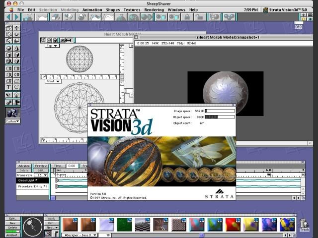Strata Vision3D v5.0 - Screenshot
