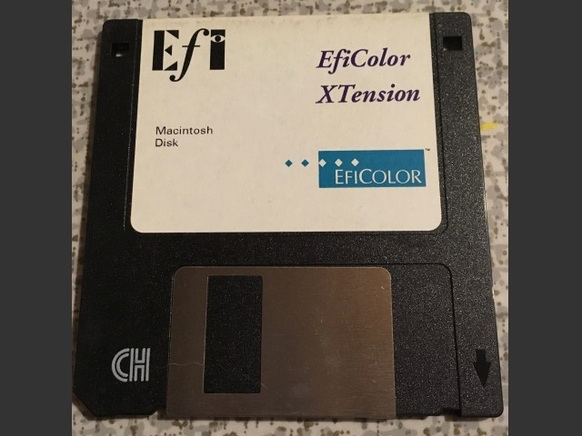 EfiColor XTension (1993)