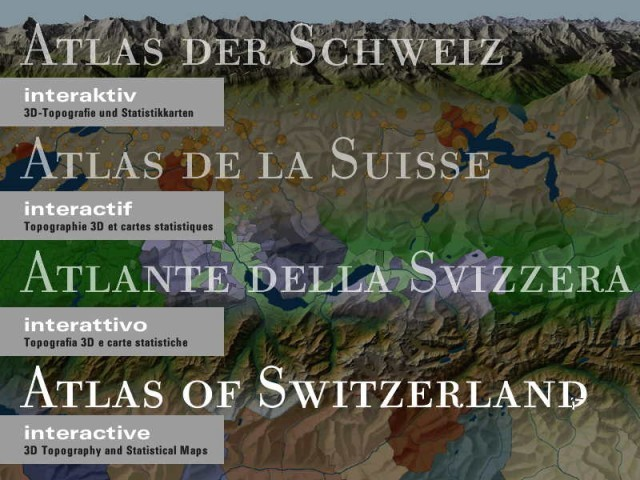 Atlas of Switzerland - Interactive (2000)