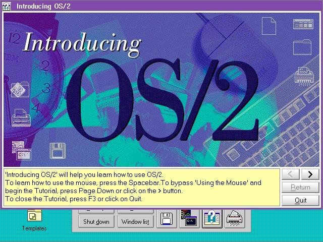 IBM OS/2 Warp - PowerPC Edition (1995)
