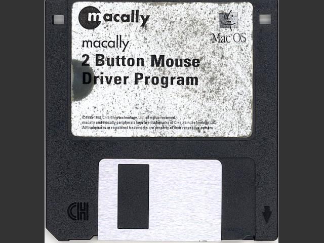 macally 2 Button Mouse Driver Program v3.1 (1997)