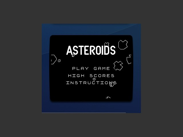 Asteroids Dashboard Widget v1.2 (OSX) (2005)
