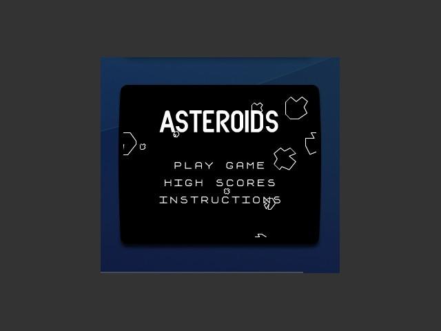 Asteroids Dashboard Widget v1.2 (OSX) (2005)